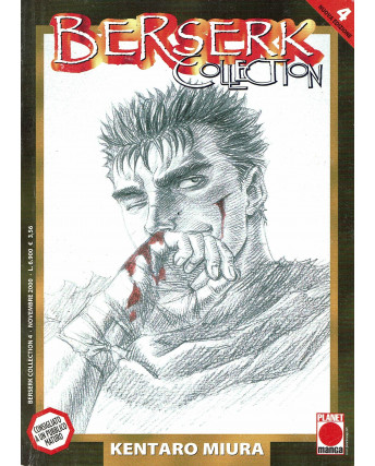 Berserk Collection n.  4 di Kentaro Miura PRIMA ed.Panini