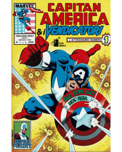 Capitan America e I Vendicatori 1/82 serie COMPLETA ed.Star Comics