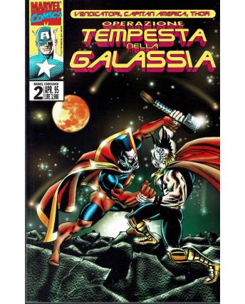 Marvel Crossover n.  2 Vendicatori Capitan America Thor ed. Marvel Italia