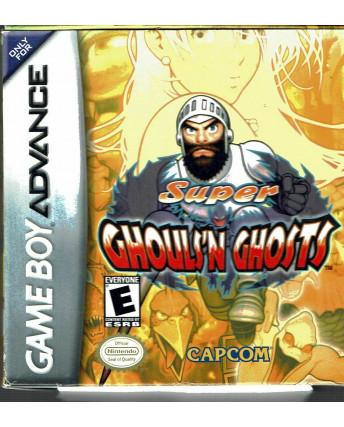 Super Ghouls N Ghosts per Game Boy Advance CAPCOM MINT ed.Nintendo