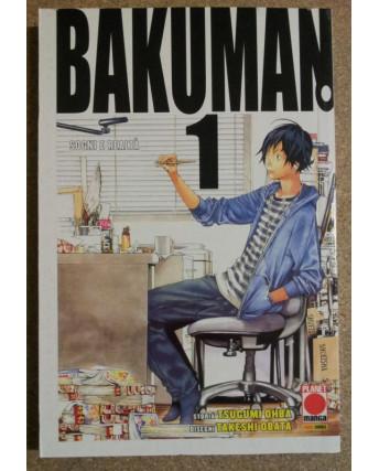 Bakuman n. 1 di Obata, Ohba aut.Death Note 1a ed. Planet Manga