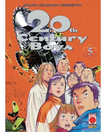20th Century Boys n. 5 di Naoki Urasawa ed.Panini Quarta Ristampa