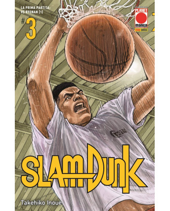 Slam Dunk  3 NUOVA EDIZIONE di Takehiko Inoue ed.Panini