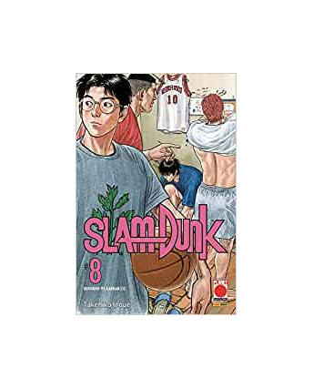 Slam Dunk  8 NUOVA EDIZIONE di Takehiko Inoue ed.Panini
