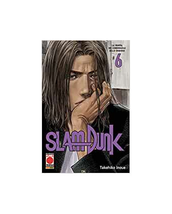 Slam Dunk  6 NUOVA EDIZIONE di Takehiko Inoue ed.Panini