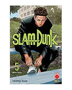 Slam Dunk  5 NUOVA EDIZIONE di Takehiko Inoue ed.Panini