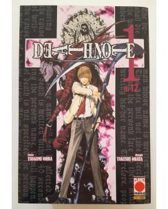 Death Note 1/12 serie COMPLETA ristampe di Tsugumi Ohba, T. Obata ed.Panini