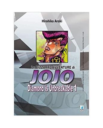Le Bizzarre Avventure di Jojo Diamond is Unbreakable  1 di H.Araki ed.Star C