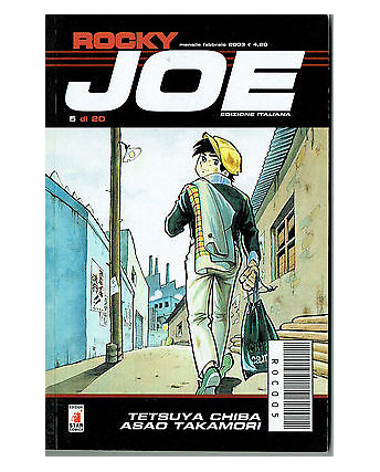 Rocky Joe  n. 5 di Chiba e Takamori ed. Star Comics
