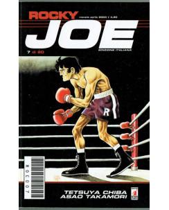 Rocky Joe  n. 7 di Chiba e Takamori ed. Star Comics