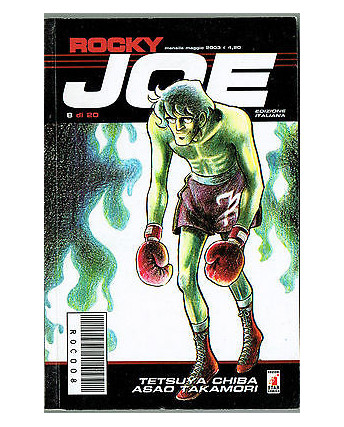Rocky Joe  n. 8 di Chiba e Takamori ed. Star Comics