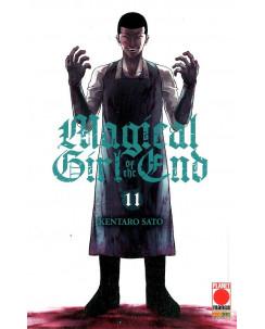 Magical Girl of the End 11 di Kentaro Sato ed.Panini  NUOVO