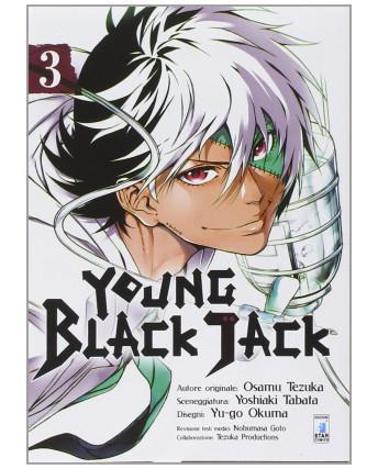 Young Black Jack  3 di Osamu Tezuka ed.Star Comics NUOVO