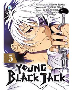 Young Black Jack  5 di Osamu Tezuka ed.Star Comics NUOVO