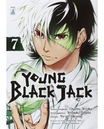 Young Black Jack  7 di Osamu Tezuka ed.Star Comics NUOVO