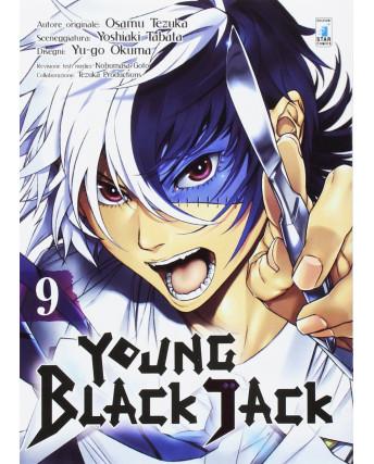 Young Black Jack  9 di Osamu Tezuka ed.Star Comics NUOVO