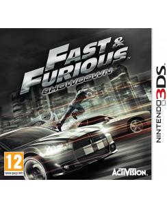 Videogioco per Nintendo 3DS: Fast e Furious showdown Activison ITA +12