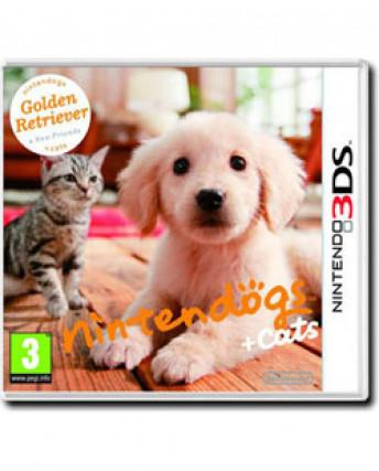 Videogioco per Nintendo 3DS: Nintendogs + cats ITA +12