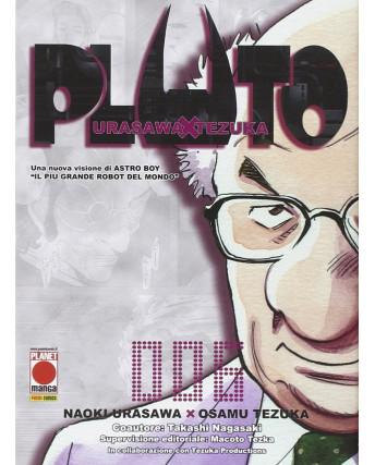 PLUTO n. 6 di Tezuka Urasawa Seconda ristampa ed. PANINI