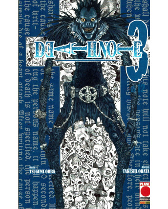 Death Note n. 3 di Tsugumi Ohba Takeshi Obata Ristampa ed. Panini