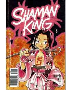 Shaman King n.  6 di Hiroyuki Takei 1a ed.Star Comics