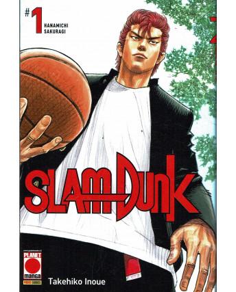 Slam Dunk  1 NUOVA EDIZIONE Ristampa di Takehiko Inoue ed. Panini