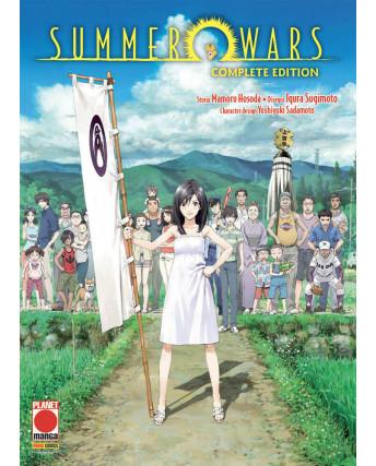 Summer Wars Complete Edition di Hosoda Sugimoto Sadamoto ed. Panini