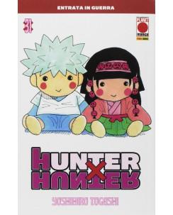 Hunter x Hunter n. 31 di Yoshihiro Togashi NUOVO ed.Panini