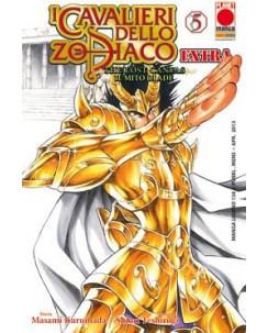 I Cavalieri dello Zodiaco The Lost Canvas n.  5 EXTRA Kurumada prima ediz.NUOVO