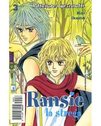 Ransie la Strega - Batticuore a Mezzanotte n. 3 di K. Ikeno ed. Star Comics