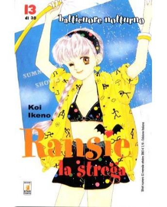 Ransie La Strega - Batticuore Notturno di Koi Ikeno N.13 ed. Star Comics