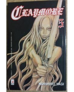 Claymore  5 di Norihiro Yagi ed.Star Comics