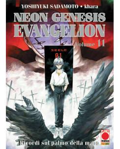 Neon Genesis Evangelion n.11 di Sadamoto, khara ristampa NUOVO ed.Panini