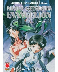 Neon Genesis Evangelion n. 2 di Sadamoto, Khara ristampa Nuova ed.Panini
