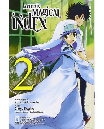 A Certain Magical Index n. 2 di Kamachi Kogino ed. Star Comics
