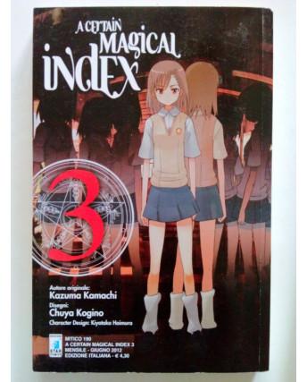 A Certain Magical Index n. 3 di Kamachi Kogino ed. Star Comics