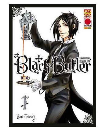 Black Butler n. 1 di Yana Toboso Kuroshitsuji Prima ed.Panini