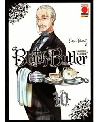 Black Butler n.10 di Yana Toboso - Kuroshitsuji Prima ed.Panini