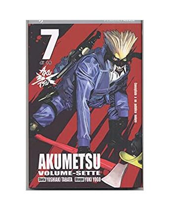 Akumetsu  7 di Yoshiaki Tabata & Yuki Yogo ed.Jpop NUOVO