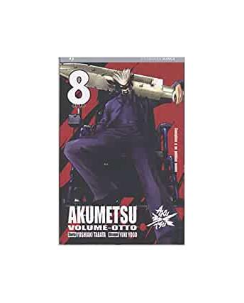 Akumetsu  8 di Yoshiaki Tabata & Yuki Yogo ed.Jpop NUOVO