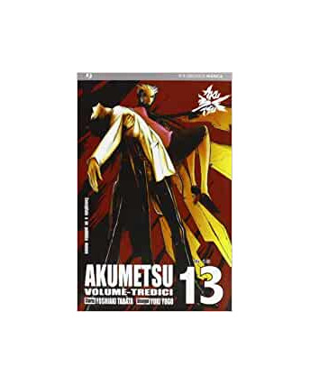 Akumetsu 13 di Yoshiaki Tabata, Yuki Yogo ed.JPop