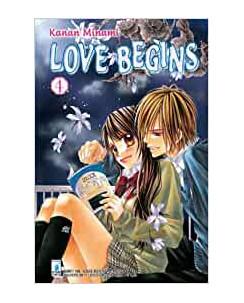 Love Begins  4 di Kanan Minami ed.Star Comics