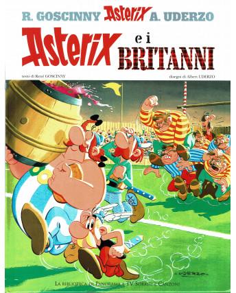 ASTERIX  2 Asterix e i Britanni di Uderzo e Goscinny ed. Tv sorrisi/Panor FU06