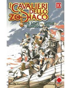 I Cavalieri dello Zodiaco: The lost Canvas n. 10 di M.Kurumada ed.Panini