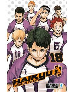 Haikyu L'Asso del Volley n.18 di Haruichi Furudate ed. Star Comics NUOVO