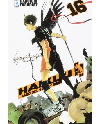 Haikyu L'Asso del Volley n.16 di Haruichi Furudate ed. Star Comics NUOVO
