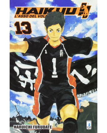 Haikyu L'Asso del Volley n.13 di Haruichi Furudate ed. Star Comics NUOVO