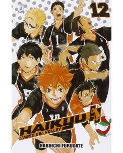 Haikyu L'Asso del Volley n.12 di Haruichi Furudate ed. Star Comics NUOVO
