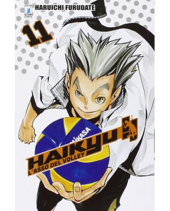Haikyu L'Asso del Volley n.11 di Haruichi Furudate ed. Star Comics NUOVO
