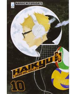 Haikyu L'Asso del Volley n.10 di Haruichi Furudate ed. Star Comics NUOVO